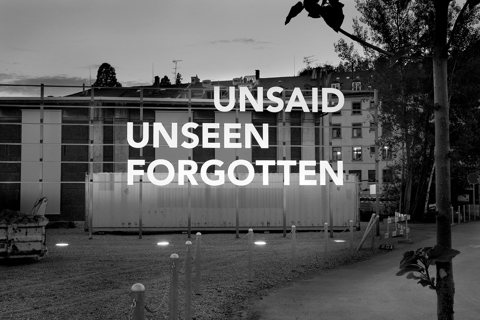 Famed, Untitled [Unsaid, Unseen, Forgotten]