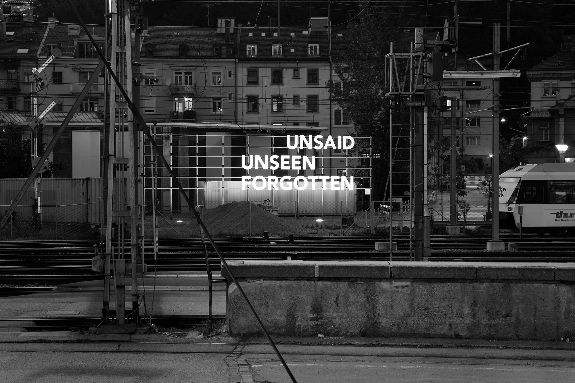 Famed, Untitled [Unsaid, Unseen, Forgotten], 2011