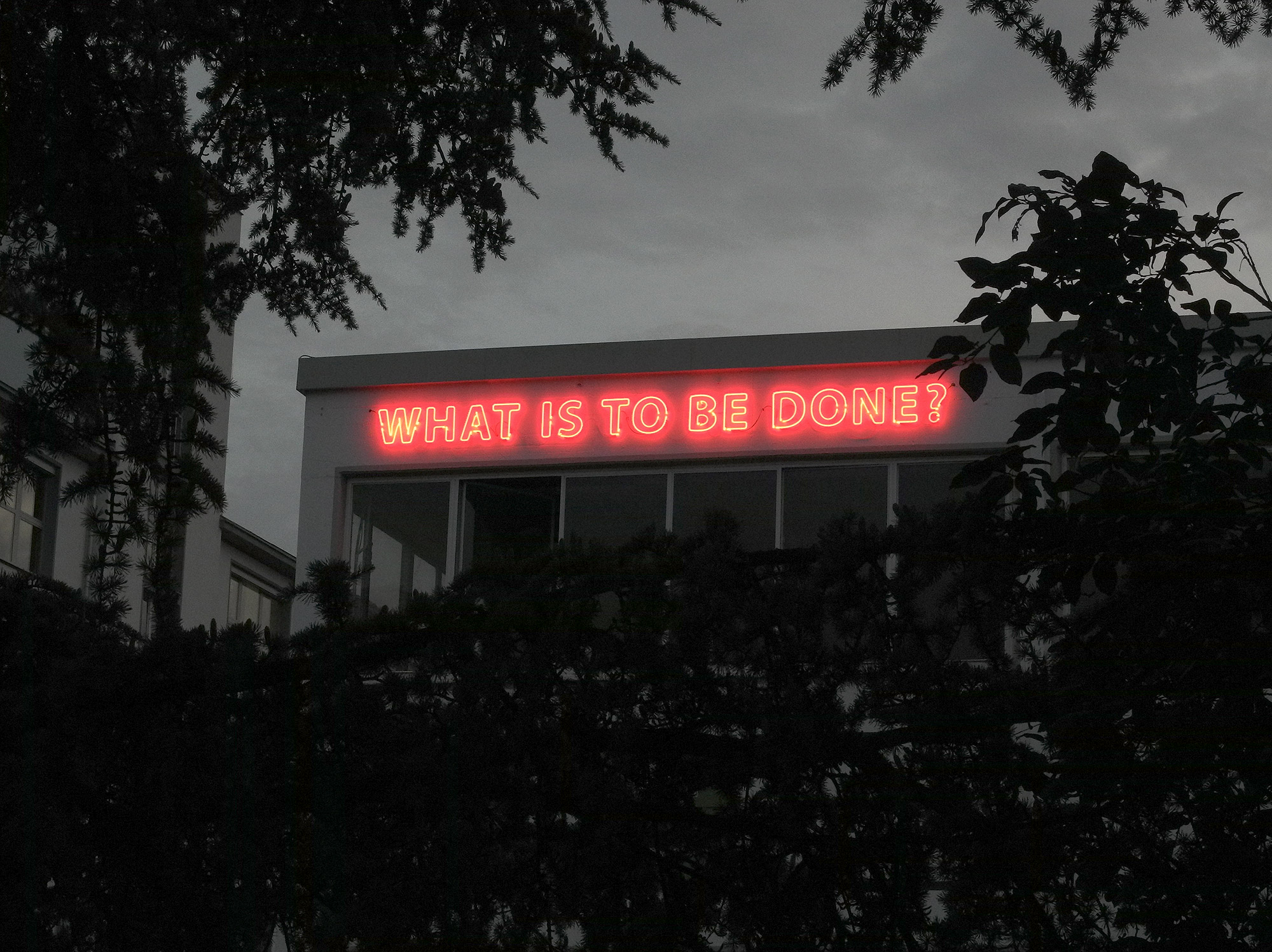 Famed, What is to Be Done?, 2012