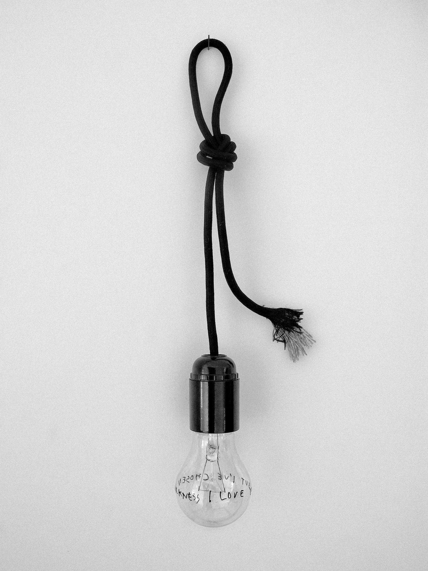 Famed, Untitled [I Love You But I've Chosen Darkness], 2010